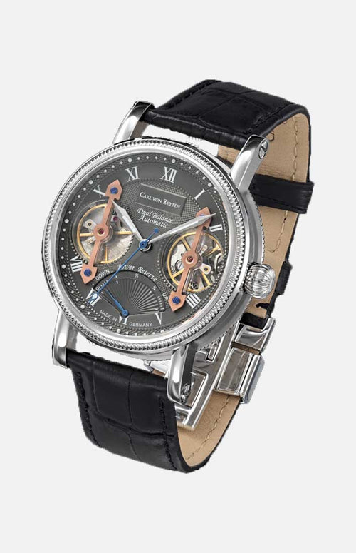 Carl von Zeyten Automatic Watch: Kinzig Gray