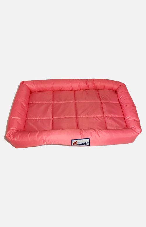 Billipets Waterproof Dog Bed Red-M(48 x 62cm)