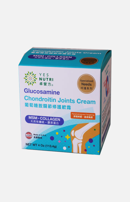 YesNutri Glucosamine - Chondroitin Joints Cream  4 Oz (113.4g)