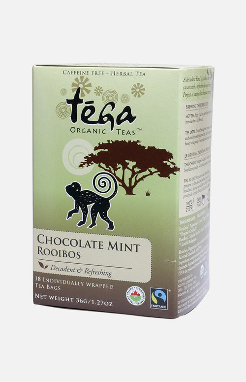 Tega Organic Teas Chocolate Mint Rooibos (18 tea bags)