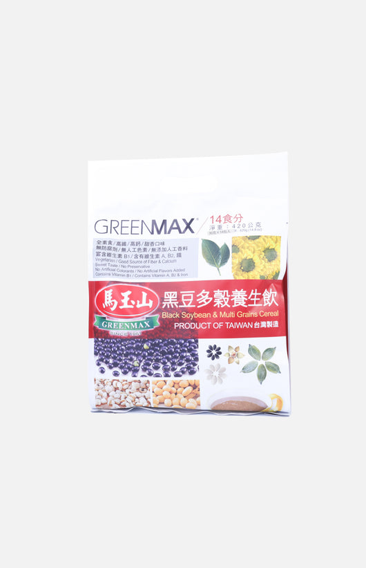 Greenmax Black Soybean Multi Grains Cereal (14 sachets)