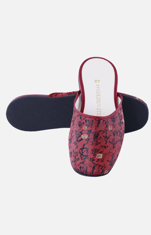 Silk Embroidered Slipper (Chinese-style pattern)
