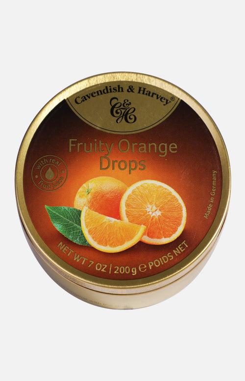 Cavendish & Harvey Fruity Orange Drops (200g)