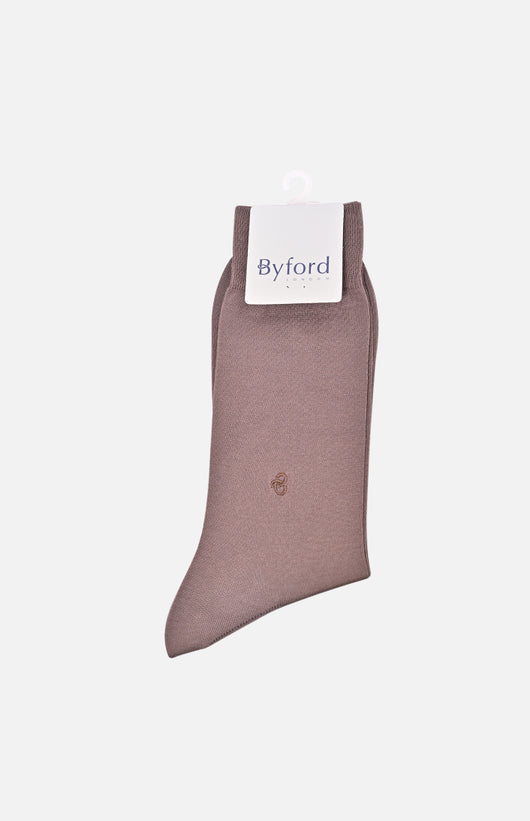 Men's Prestige Socks (Brown)