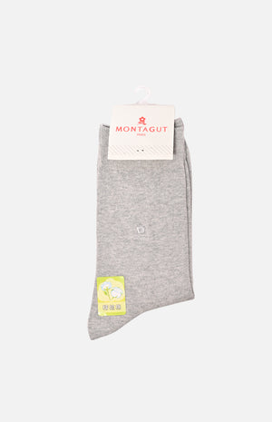 Men's Medium Crew Socks(Black)