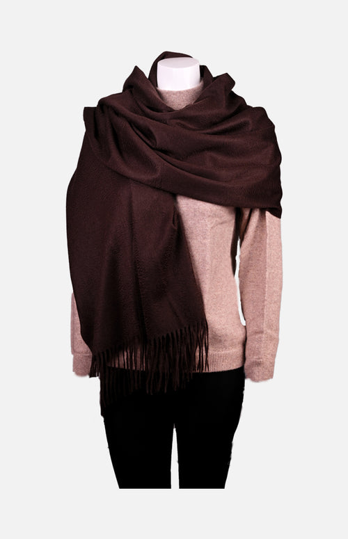 Cashmere Shawl(Brown)