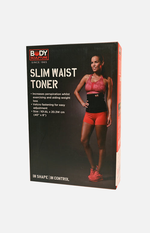 Body Sculpture Slim Waist Toner (Black)(SX-876))