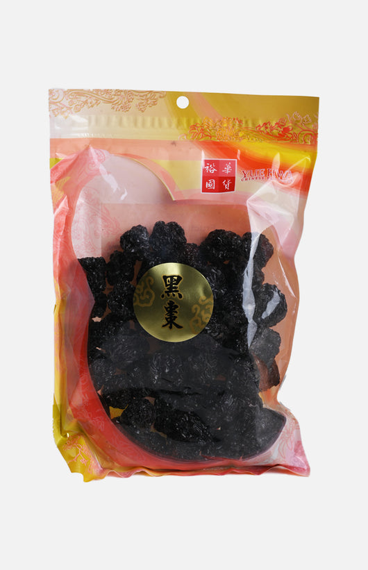 Yue Hwa Chinese Dried Black Date (375g/bag)