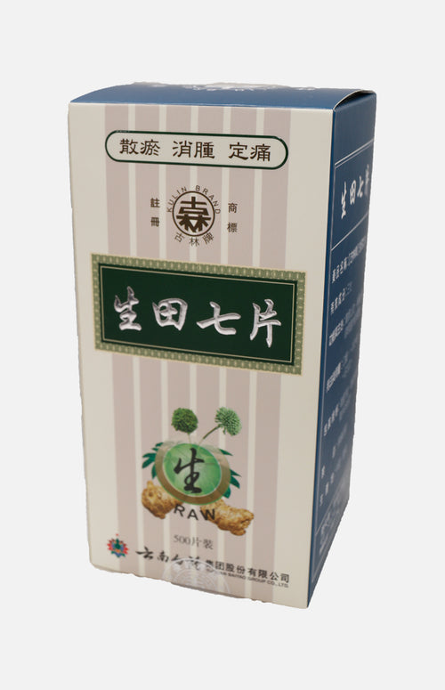 Yun Feng Brand Tien Chi Tablets Raw (500 tablets/box)