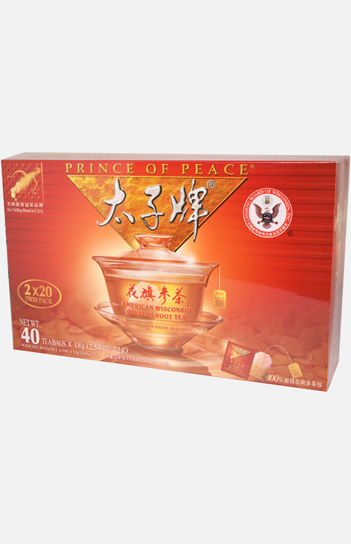 American Wisconsin Ginseng Root Tea