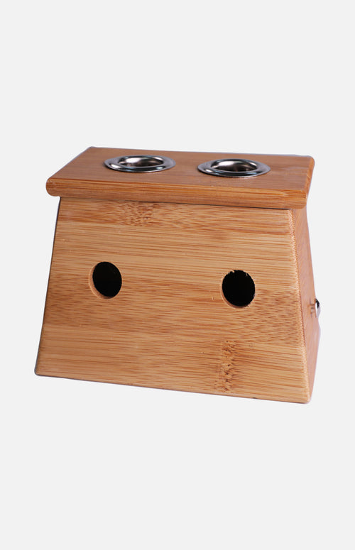 Double Holes Moxibustion Stand