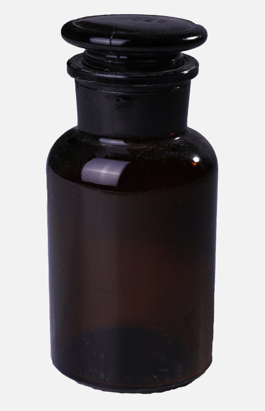 *Maroon Glass Jar *125ml