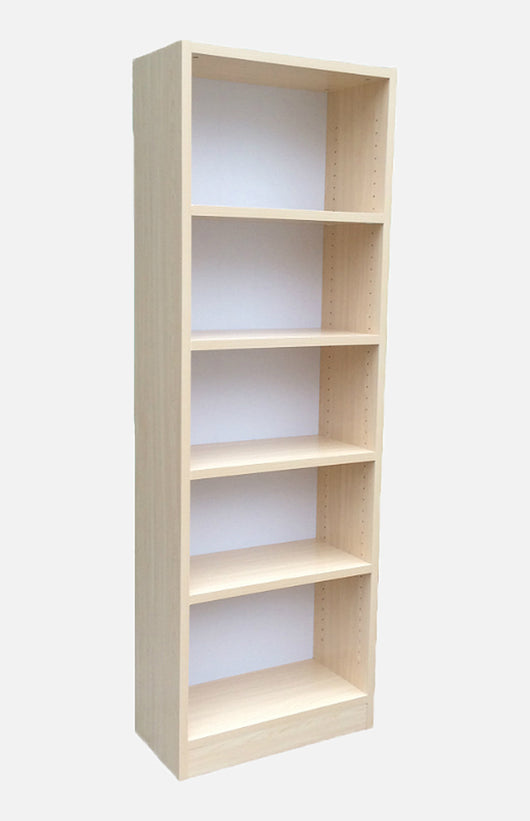18inchWhite maple bookcase