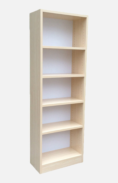 24inchWhite maple bookcase