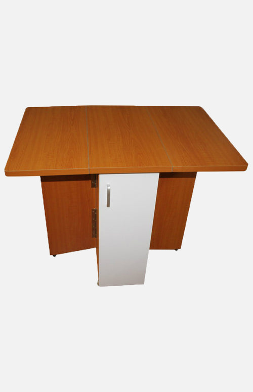 Cherry wood drop-leaf table