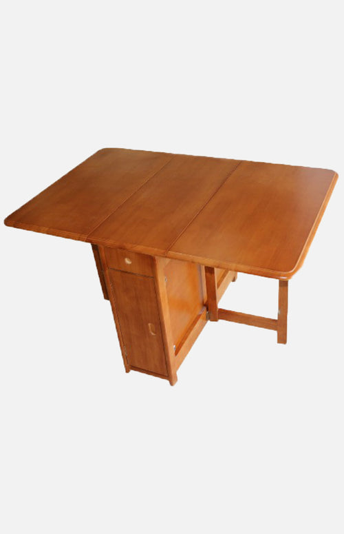 Thailand rubber wood butterfly table (solid wood)