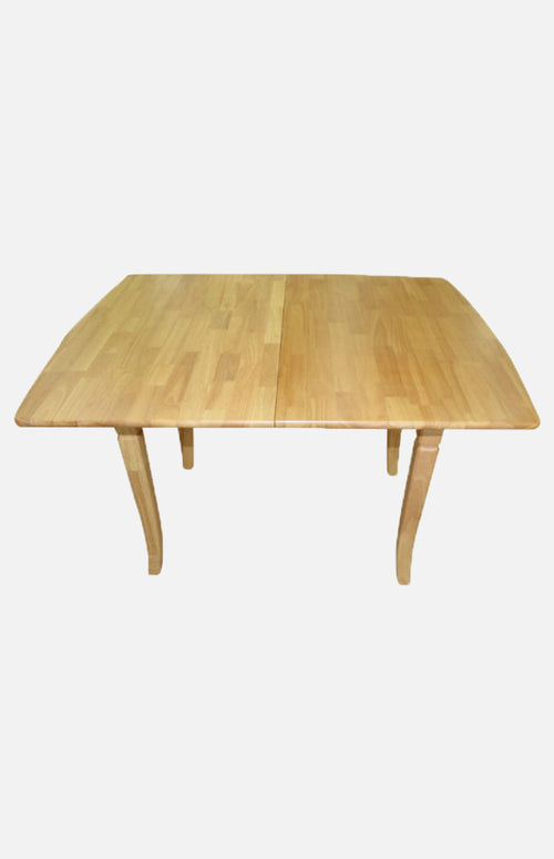 Thailand rubber wood extendable table (solid wood)