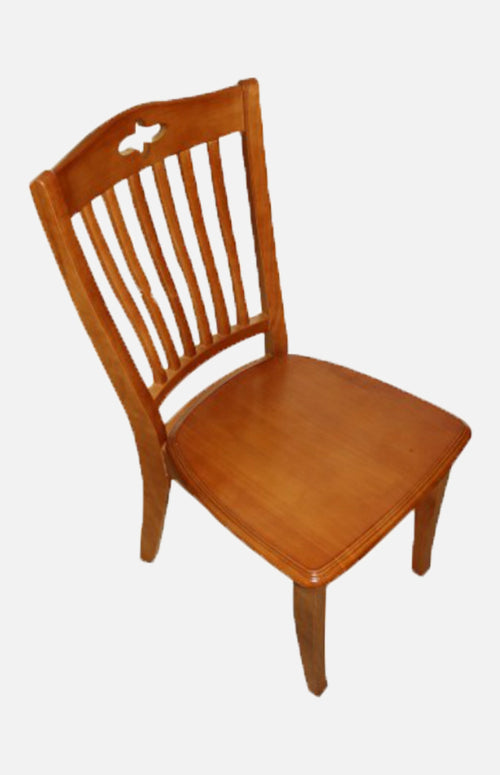 Rubber wood chair