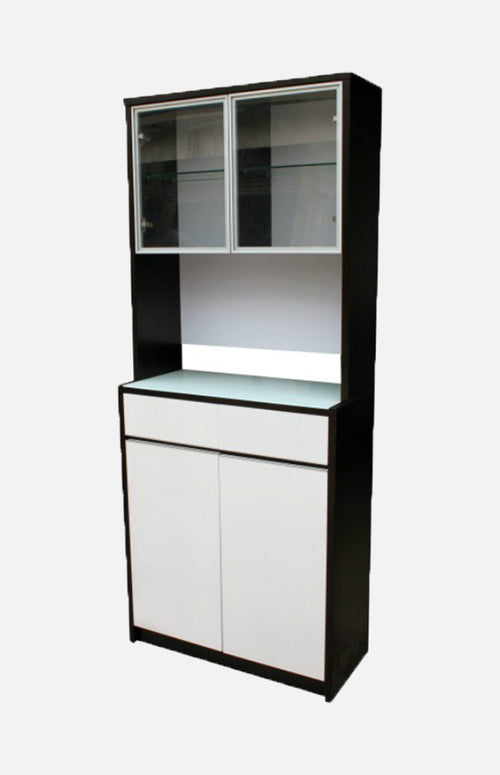 Storage combination with drawers and doors