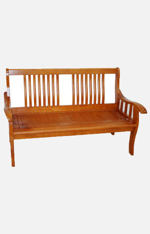 Thailand solid wood 2-seat sofa