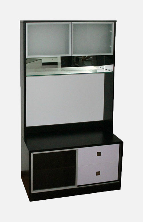 Storage combination with doors/ drawers
