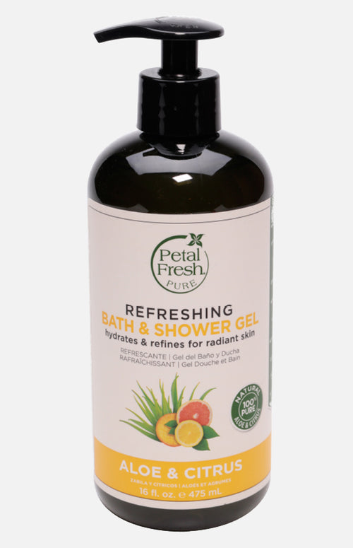 Petal Fresh Organics Aloe & Citrus Bath & Shower Gel