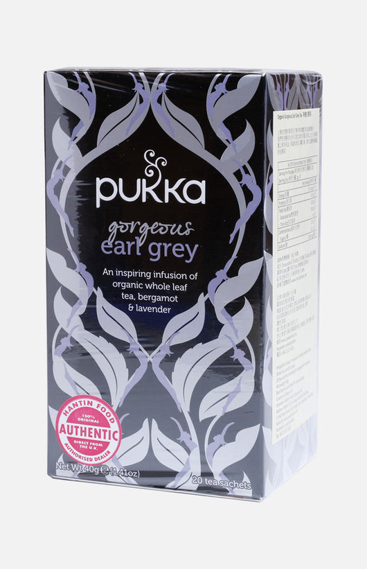 Pukka Gorgeous Earl Grey (20 tea sachets)