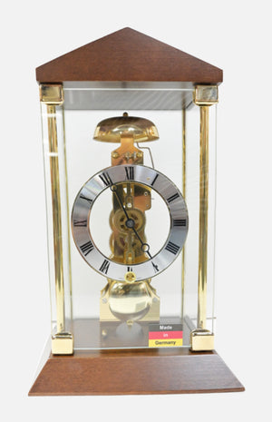 Rhythm Mechanical Wooden Table Clock (CRJ-748NR06)
