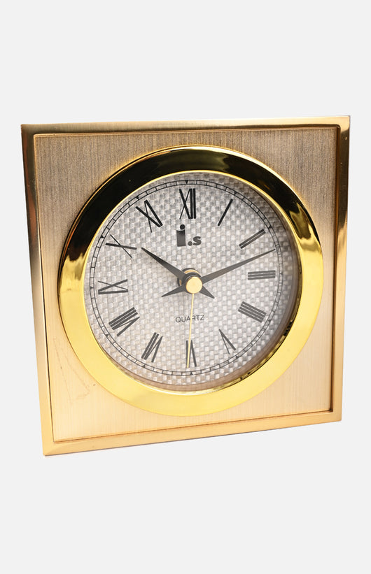 Iswatch Quartz Table Clock  (T-1705G)