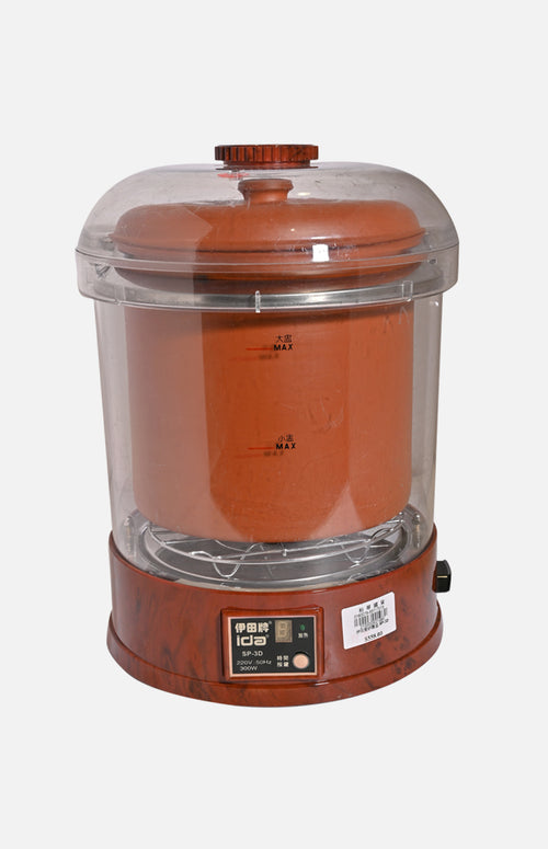 Ida 1.5L Electronic Puple Clay Stewing Pot (SP-2D)