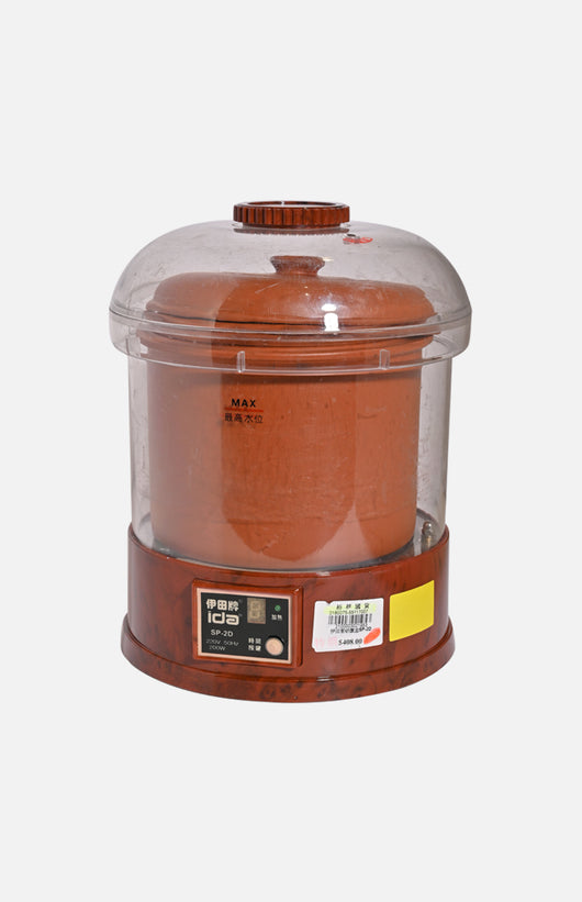 Ida 3L Electronic Puple Clay Stewing Pot (SP-3D)