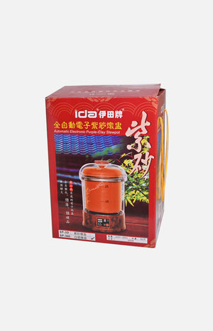 Ida 3L Electronic White Ceramic Stewing Pot(SP-300)