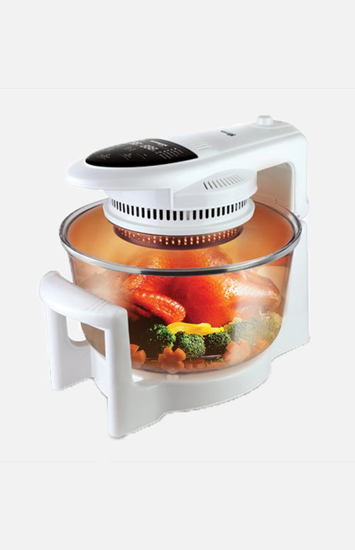 German Pool Auto-Spin Halogen Cooking Pot Special Edition CKY-990D