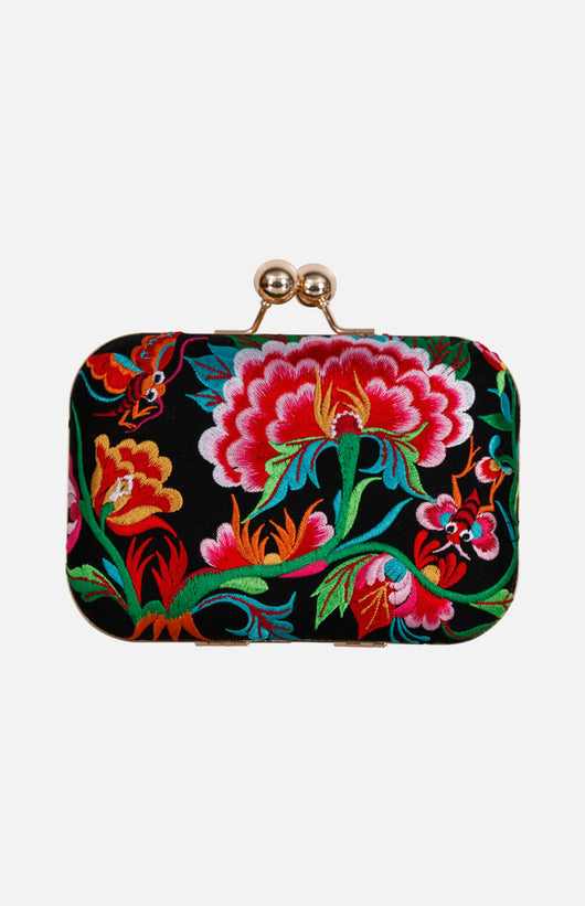 Chinese Embroidered Clutch