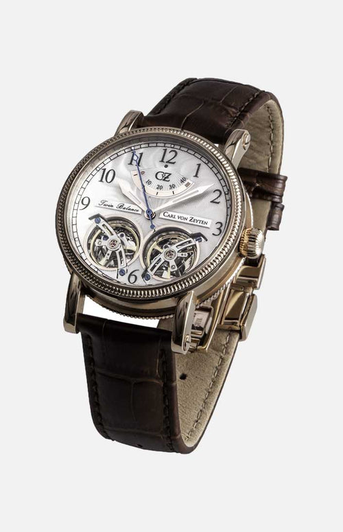 Carl von Zeyten Automatic Watch: Bernau White