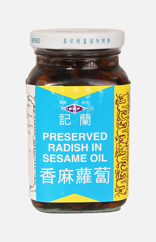 Preserved Radish In Seasame Oil