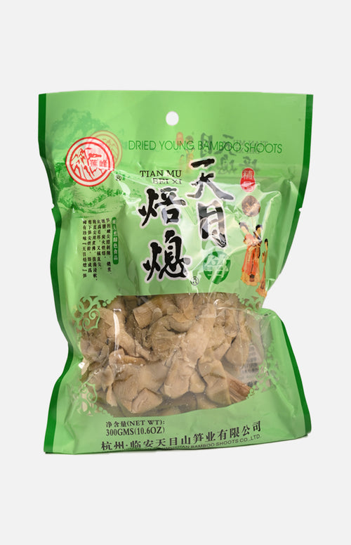 Dried Young Bamboo Shoots