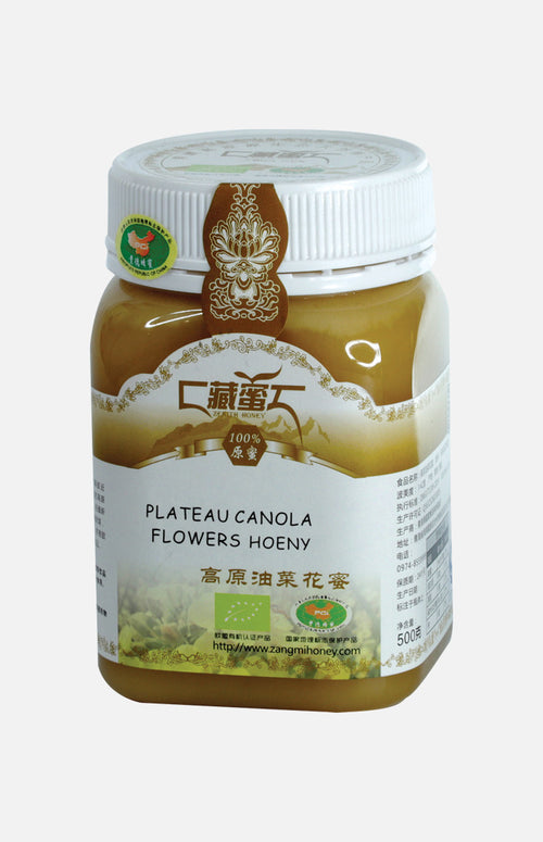 Tibetan Plateau Canola Flowers Honey