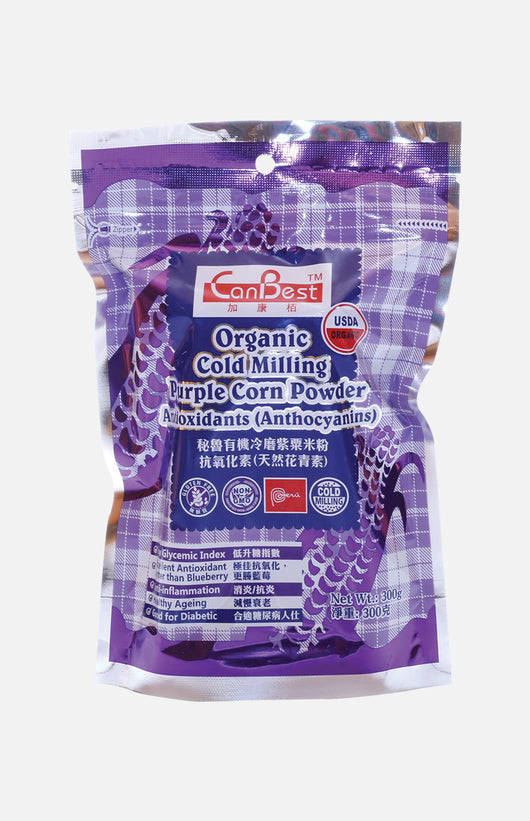 Organic Cold Milling Purple Corn Powder