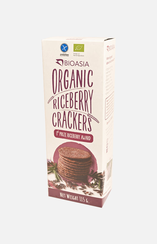 Organic Riceberry Crackers