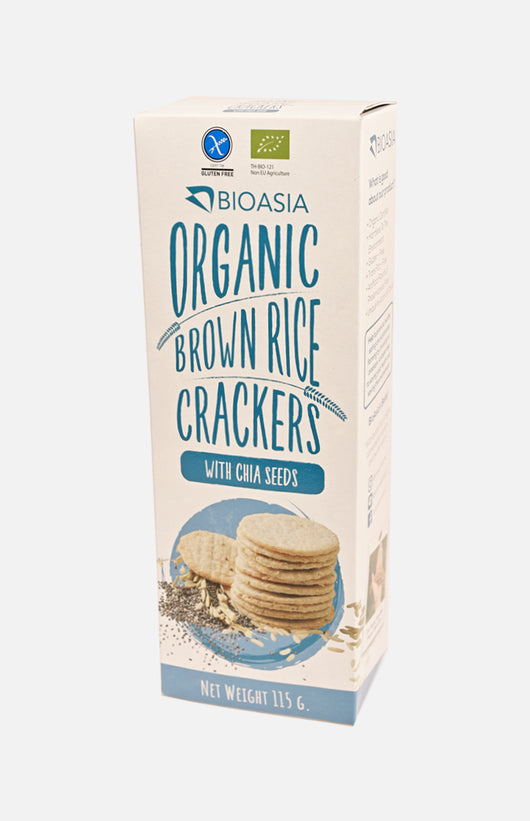 Organic Brown Rice Crackers