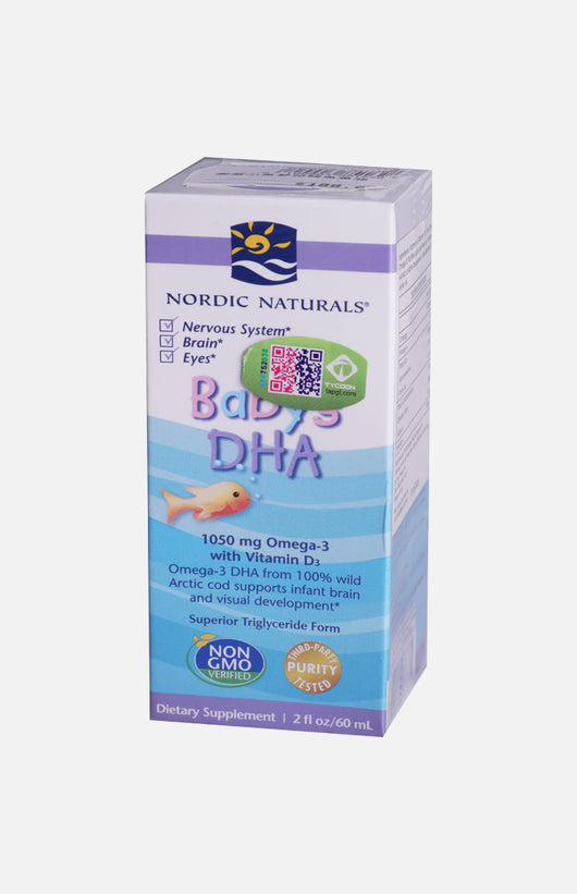Nordic Naturals Baby's DHA with D3