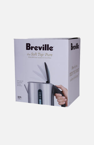 Breville 1.7L the Soft Top™ Pure  Kettle (BKE-700)