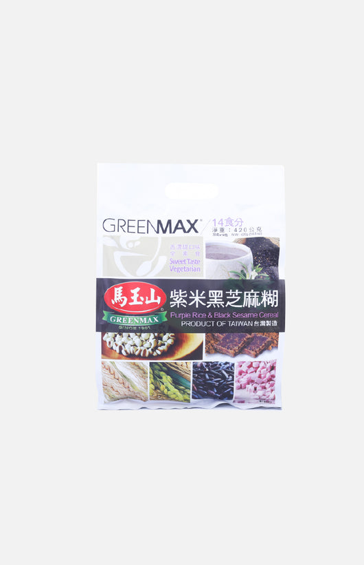 Purple Rice & Black Sesame Cereal (14 sachets)