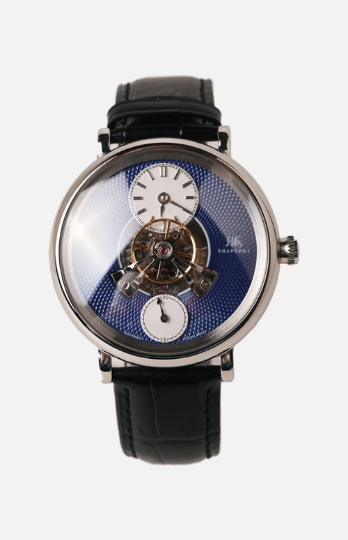Shanghai Watch central oscillating weight Automatic Watch (Blue dial) (820.5.A.B.DY)
