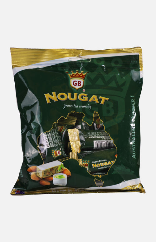 Australia Golden Boronia Green Tea Crunchy Nougat (100g)