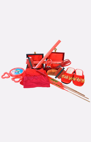 Beddings And Hair Combing Set ( Set A )