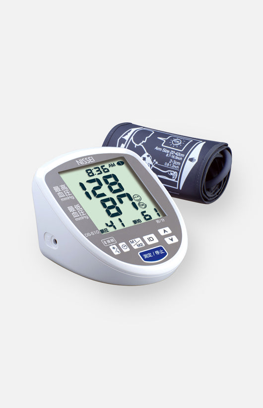 Nissei DS-N10J Upper arm blood pressure monitor (Japanese Brand)
