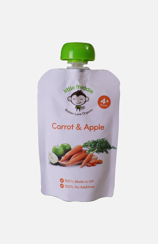 Little Freddie Organic Carrot & Apple