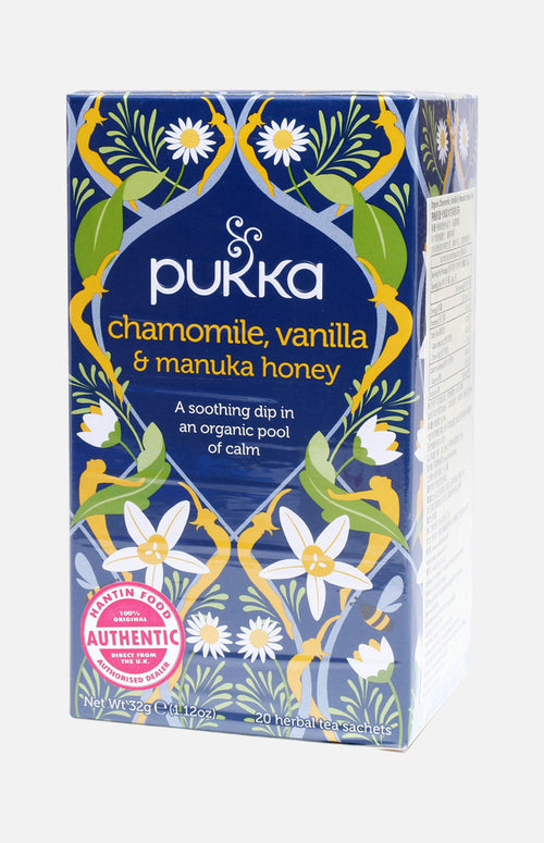 Pukka Organic Chamomile, Vanilla and Manuka Honey Tea